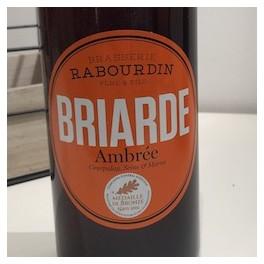 BIÈRE BRIARDE AMBRÉE 75 CL