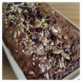 CAKE GRAINES ET CHOCOLAT