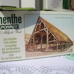 BOITE DE MENTHE POIVRÉE