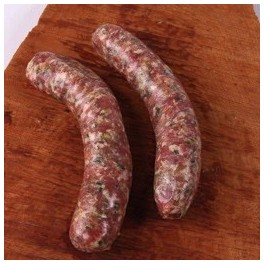2 SAUCISSES NATURES