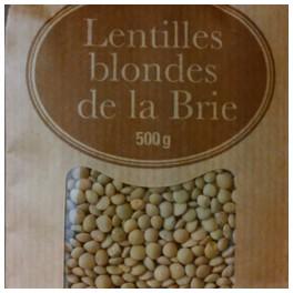 LENTILLES BLONDES DE LA BRIE