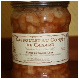 CASSOULET DE CANARD 450 GR