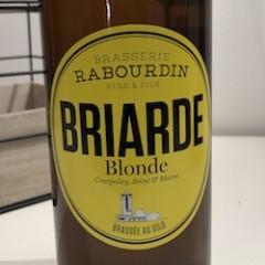 BIÈRE BRIARDE BLONDE 75 CL
