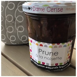 CONFITURE PRUNE NOISETTE