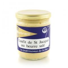 CONFIT DE ST JACQUES BEURRE SALÉ