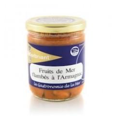 FRUITS DE MER À L'ARMAGNAC
