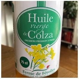 HUILE DE COLZA PRESSION À FROID