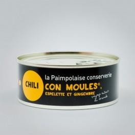 TAPAS CHILI CON MOULES ESPELETTE