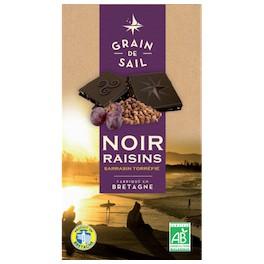 CHOCOLAT NOIR RAISIN SARRASIN