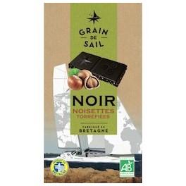 CHOCOLAT NOIR NOISETTES TORRÉFIÉES
