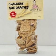 CRAKERS AUX GRAINES