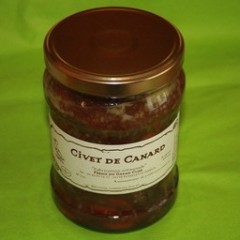 CIVET DE CANARD 450 GR