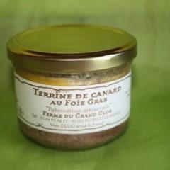 TERRINE AU FOIE GRAS 100 GR